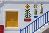 Hotel Near Ano Mera, Mykonos, Cyclades, Greece Photographic Print by Katja Kreder