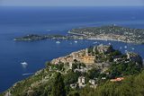 Eze and Cap Ferrat, Cote D'Azur, France, Europe Photographic Print by Christian Heeb