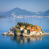 The Picturesque Island Village of Sveti Stephan, Sveti Stephan, Montenegro Photographic Print by Doug Pearson