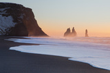 Iceland, South Iceland, the Black Beach of Vik Photographic Print by Alessandro Carboni