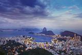 South America, Brazil, Rio De Janeiro, Sugar Loaf Photographic Print by Alex Robinson