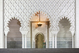 Morocco, Al-Magreb, Mausoleum of Mohammed V in Rabat Photographic Print by Andrea Pavan