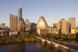 City Skyline Viewed across the Colorado River, Austin, Texas, Usa Photographic Print by Gavin Hellier