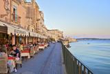 Restaurant, Ortygia, Syracuse, Sicily, Italy Photographic Print by Neil Farrin
