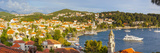 Elevated View over Picturesque Harbor Town of Cavtat, Cavtat, Dalmatia, Croatia Photographic Print by Doug Pearson