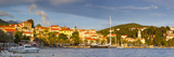 The Picturesque Harbor Town of Cavtat Illuminated at Sunset, Cavtat, Dalmatia, Croatia Photographic Print by Doug Pearson