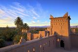 Kasbah Amerhidil, Skoura, Quarzazate Region, Morocco, North Africa Photographic Print by Neil Farrin