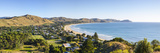 Elevated View over Wainui Beach, Gisborne, East Cape, North Island, New Zealand Photographic Print by Doug Pearson