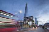 Uk, London a View of the Shard from London Bridge Photographic Print by Roberto Cattini