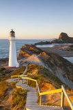 Lighthouse at Castlepoint, Wairarapa, North Island, New Zealand Photographic Print by Doug Pearson