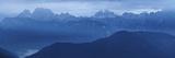 Italy, Veneto, Tre Cime Di Lavaredo, Cadini and Paterno Mountain Views from Agudo Mount Photographic Print by Samuel Pradetto