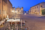 Italy, Lombardy, Mantova District, Mantua, the Cathedral in Sordello Square Photographic Print by Francesco Iacobelli