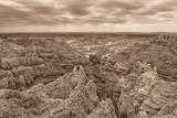 Stronghold, Badlands National Park, South Dakota, Usa Photographic Print by Christian Heeb