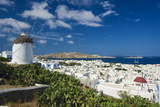 Mykonos-Town, Mykonos, Cyclades, Greece Photographic Print by Katja Kreder