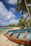 Beach at Trou D'Eau Douce, Flacq, East Coast, Mauritius Photographic Print by Jon Arnold