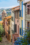Old Town Street, Collioure, Languedoc-Roussillon, France Photographic Print by Stefano Politi Markovina
