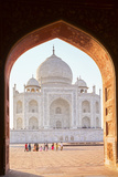 India, Uttar Pradesh, Agra, Taj Mahal Photographic Print by Alex Robinson