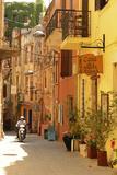 Street in Chania, Crete, Greece, Europe Photographic Print by Christian Heeb