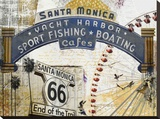 Santa Monica 2 Stretched Canvas Print
