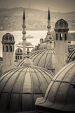 Turkey, Istanbul, Sultanahmet, Domes Photographic Print by Alan Copson
