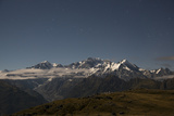 Mount Cook in Westland National Park Photographic Print by Michael Melford