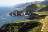 The Bixby Creek Bridge the Scenic Big Sur Pacific Ocean Coast Photographic Print by Keith Barraclough
