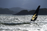 Windsurfing at Downings Sheephaven Bay, Donegal, Ireland Photographic Print by Chris Hill