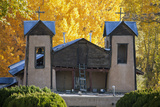 El Santuario De Chimayo, a Famous Church Along the High Road to Taos, New Mexico Photographic Print by Scott S. Warren