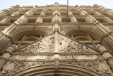 Architectural and Sculptural Details of a Building at 281 Park Avenue Photographic Print by Keith Barraclough