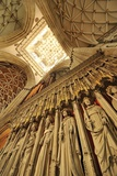 Statues of Kings in the Giant Gothic Cathedral of York Minster Photographic Print by Jim Richardson