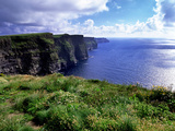 Cliffs of Moher in County Clare on the West Coast of Ireland Fotografisk tryk af Chris Hill