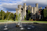A Fountain on the Grounds of Ashford Castle, County Mayo, Ireland Photographic Print by Chris Hill