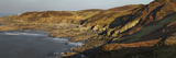 Bull Point, Seen across Rockham Bay, Mortehoe, Near Woolacombe, Near Ilfracombe, Devon Photographic Print by Nigel Hicks