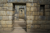 Doorways Through Massive Masonry Walls at Machu Picchu Photographic Print by Diane Cook Len Jenshel