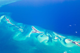 Small Islands in the Bahamas Islands/Turks and Caicos Chain in the Caribbean Sea Photographic Print by Mike Theiss