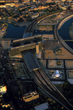 An Aerial View of the Hauptbanhof, the Grand Central Railway Station Photographic Print by Marcello Bertinetti