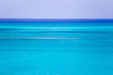 The Turquoise Waters of Grace Bay, and the Atlantic Ocean Beyond Photographic Print by Mike Theiss