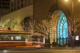 Holiday Lights Along Michigan Avenue's Magnificent Mile Photographic Print by Richard Nowitz
