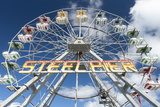 The Iconic Steel Pier Ferris Wheel in Atlantic City, New Jersey Photographic Print by Jeff Mauritzen