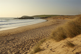 The Sands of Constantine Bay, Looking Towards Trevose Head, Near Padstow, Cornwall Photographic Print by Nigel Hicks