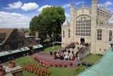 The Order of the Garter Ceremony at Saint George's Chapel Photographic Print by Jim Richardson