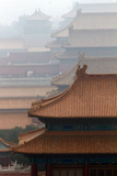 A Heavy Haze of Air Pollution over Part of the Forbidden City Photographic Print by Sean Gallagher