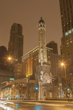 The Historic Chicago Water Tower, on Michigan Ave in the Magnificent Mile, 2013 Photographic Print by Richard Nowitz