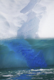 Close Up of an Iridescent Blue Iceberg with Gorgeous Coloring Photographic Print by Ira Meyer