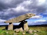 Kilclooney More Portal Tomb, in County Donegal, Ireland Photographic Print by Chris Hill