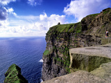O'Brien's Tower on the Cliffs of Moher, County Clare, Ireland Photographic Print by Chris Hill
