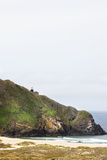 The Point Sur Lightstation on a Large Cliff on the Big Sur Coast Photographic Print by Keith Barraclough