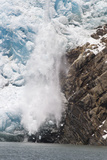 Ice Calving Off North Sawyer Glacier into Tracy Arm Fjord Photographic Print by Matthias Breiter