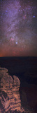 A View of the Night Sky over the Grand Canyon Made with an Astronomically Modified Camera Fotografisk tryk af Babak Tafreshi