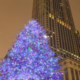 Christmas Tree on North Michigan Ave in the Magnificent Mile, 2013 Photographic Print by Richard Nowitz